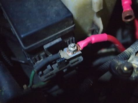 Jeep Cherokee How Replace Battery Cable