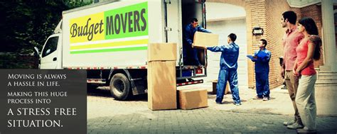budget movers moving services