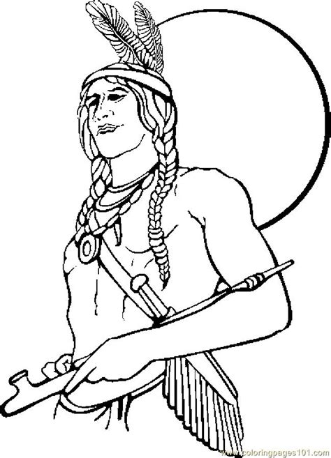 native american coloring pages  children az coloring