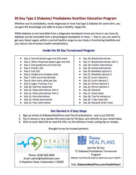 pre type  diabetes patient education program