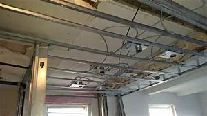 Installing recessed lighting in a suspended ceiling