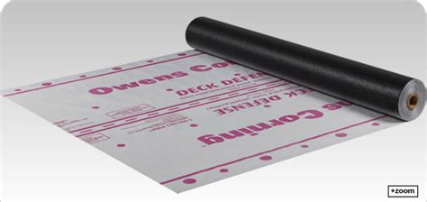 Owens Corning Deck Defense Synthetic Underlayment by Owens Corning Roofing Deck Defense High Performance Roof