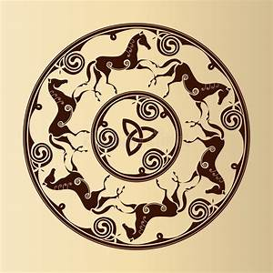 Symboles De Protection Celtique : symbole celtique des chevaux illustration de vecteur illustration du d coration noeuds 30576808 ~ Dode.kayakingforconservation.com Idées de Décoration