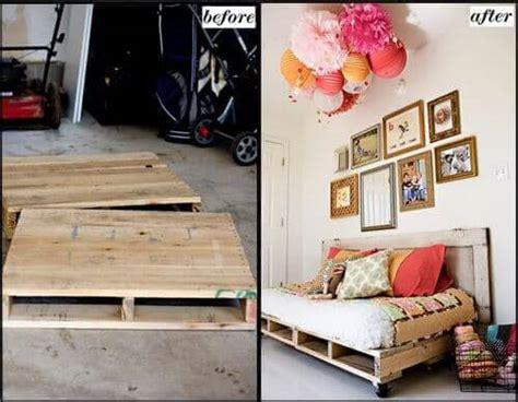 kann aus einem normalen bett ein boxspringbett machen so kann aus einer europalette ein traumhaftes bett basteln