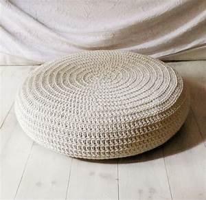 Housse De Pouf Carré : customiser son pouf ikea joli place ~ Teatrodelosmanantiales.com Idées de Décoration