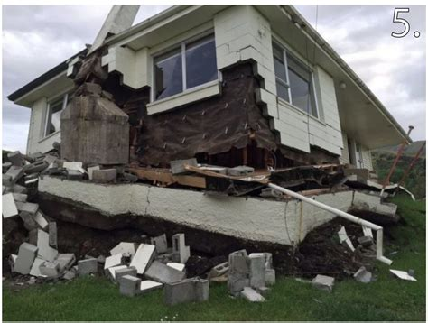 Earthquake Images New Zealand Earthquake Damage Map Images Reveal