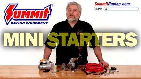 Summit Racing Mini High Torque Starters For Youtube