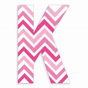 chevron letter k With chevron letter k