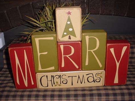 christmas wood crafts merry christmas santa tree wood