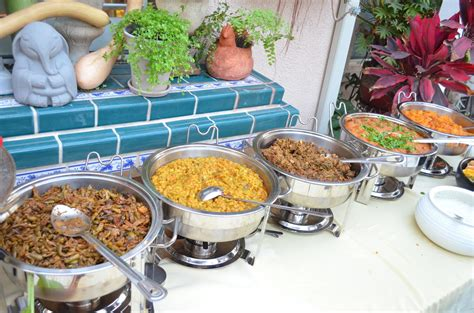 Kitchen Buffet Dinner by Entertaining From An Ethnic Indian Kitchen Garden 4