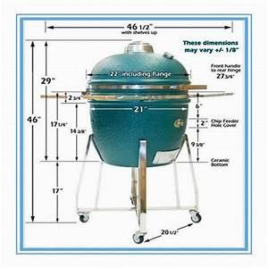Medium Size Ceramic Kamado BBQ Grills(id:7391213) Product