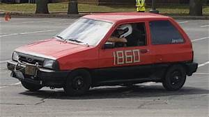 Autocrossing The Jdmstiva  My 91 Ford Festiva