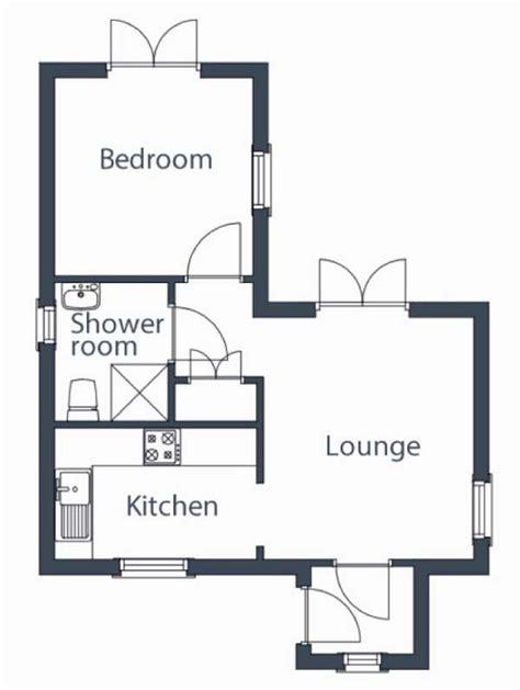 bedroom tiny house floor plans   sq ft