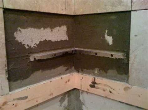 stainless steel floating how to install a shower corner seat