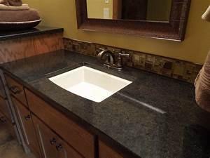 Black laminate countertops photos