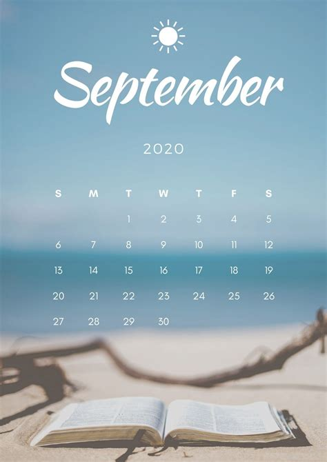 September Calendar Wallpaper - KoLPaPer - Awesome Free HD Wallpapers