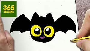 Dessin Citrouille Facile : comment dessiner chauve souris kawaii tape par tape dessins kawaii facile youtube ~ Melissatoandfro.com Idées de Décoration