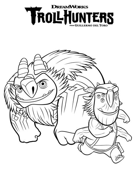 Gratis Kleurplaten Trolls by Troll Coloring Pages Print Coloring
