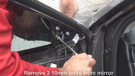 remove side mirror toyota camry