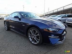 2018 Kona Blue Ford Mustang GT Premium Fastback #123815709 Photo #9 | GTCarLot.com - Car Color ...