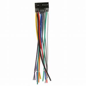 Universal 16cm Car Stereo Radio Player Iso Wiring Harness