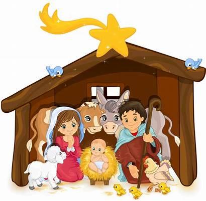 Nativity Transparent Clip Jesus Scene Clipart Holy