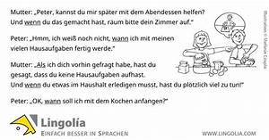 Abendessen Auf Englisch : wann wenn als lingolia deutsch ~ Somuchworld.com Haus und Dekorationen