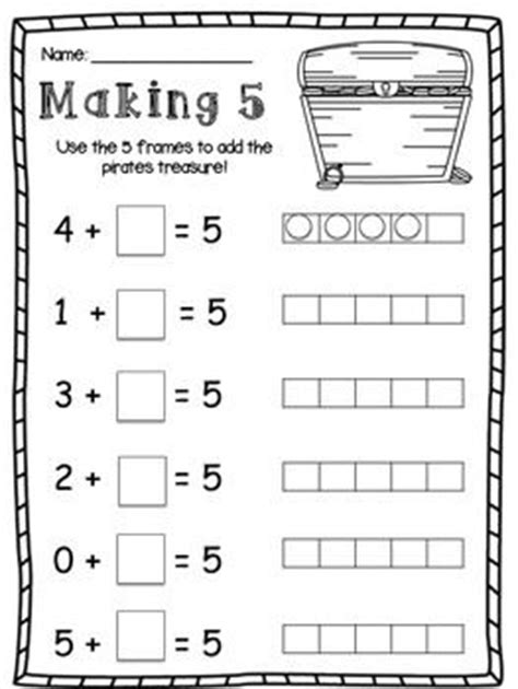 theory substruction paper template friends of 10 and friends of 5 making 10 and making 5