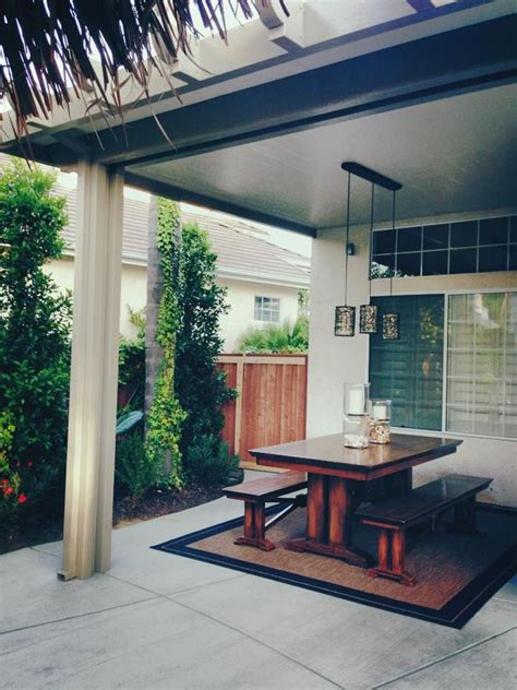 alumawood insulated solid patio cover  electrical  oversized trim kit lattice patio