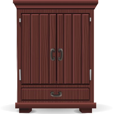 Free Vector Graphic Armoire, Storage, Wardrobe Free