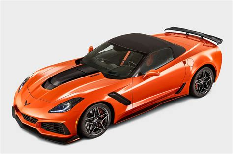 New 744bhp Chevrolet Corvette Zr1 Convertible Debuts At La