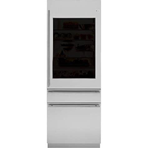 monogram european  hinge door panel kit  refrigerators freezers blacksilver