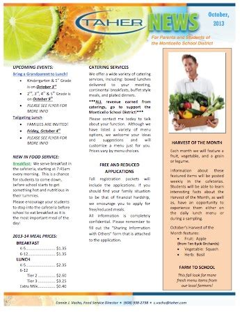 newsletter cuisine monticello october food service newsletter 2013