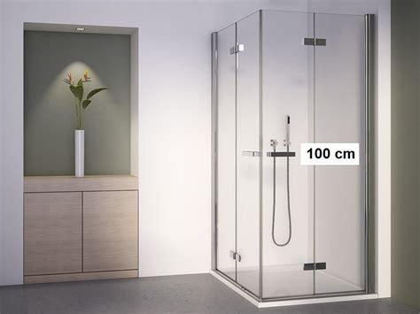 dusche 80 x 100 duschkabine eckeinstieg 100x80 drehfaltt 252 r rahmenlos mit 2