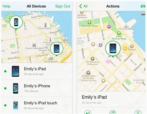 find my iphone app updated apple find my iphone app update for ios 7