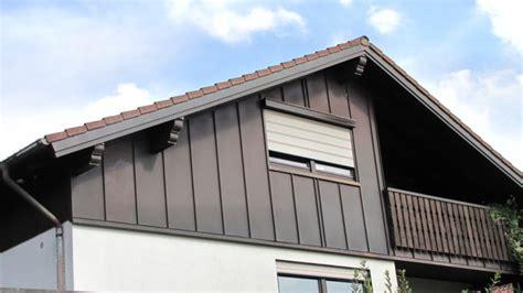 Fassadenverkleidung Zinkblech Kosten by Fassadenverkleidung Metall Blech Blech