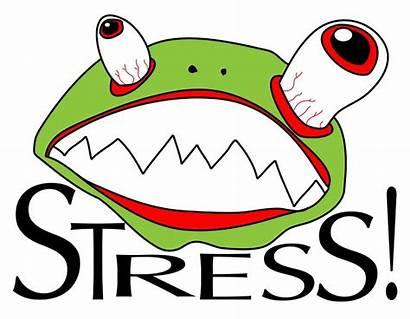 Funny Clipart Stress Stressful Clip Presentation