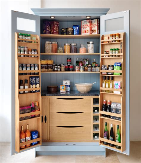 Larder Pantry Cupboard Our Shaker Pantry Larder With Granite Cold Shelf Wine