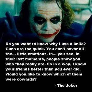 Joker quote | Creepy Pasta | Pinterest | Joker quotes ...