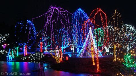 christmas lights events near me ohio christmas events calendar 2017 trekohio