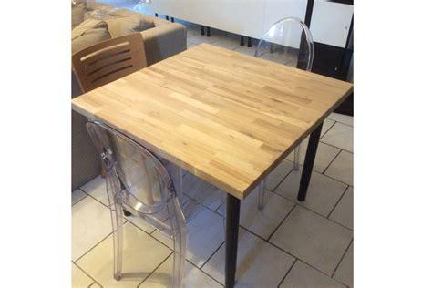 plateau de table sur mesure table sur mesure avec plateau en orme massif