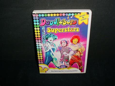 Doodlebops Superstars Playhouse Wall Disney Dvd Tv 4