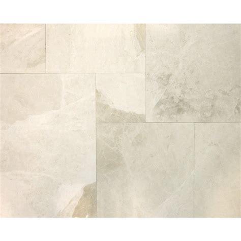 faber 6 beige marble tile set lowe s canada