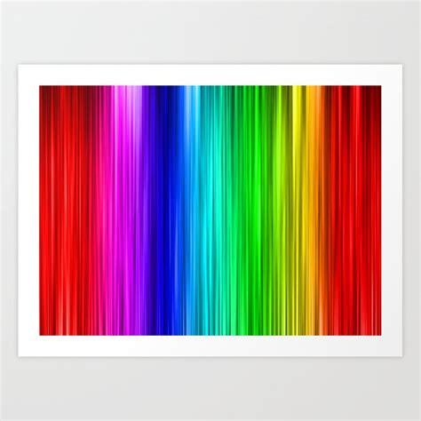 rainbow wallpaper art print  tracy society