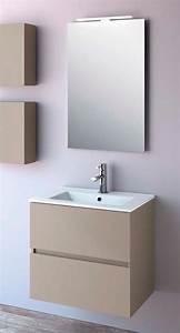 meuble salle de bain fussion line salgar With salgar meuble salle de bain
