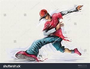 Boy Hip Hop Dance Rap Music Stock Illustration 222775702 ...