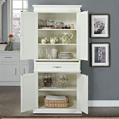 white pantry cabinets for kitchen white kitchen pantry 1858