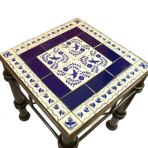 mexican tile coffee table mexican tile wrought iron table mexican tile designs