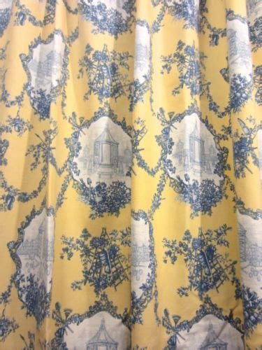 french blue toile shower curtain   shower