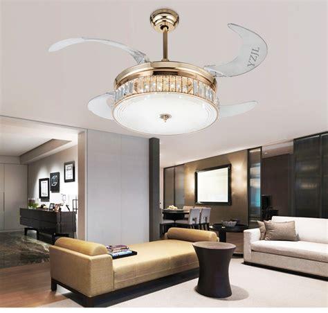 folding ceiling fan light telescopic modern